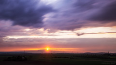 Counting clouds in the sky (OR_U) Tags: longexposure sunset sky sun clouds germany landscape widescreen le oru sunrays 169 hss 2016 helmstedt sliderssunday stammtischblende50