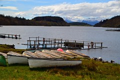 (Zak355) Tags: snow boats scotland fishing scottish bute rothesay isleofbute lochfad