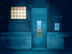 Does A Threatening Warmth Await You? (david grim) Tags: night alley pittsburgh pennsylvania streetphotography pa eastend ninthward alleghenycounty lawrencville
