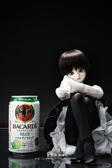Bacardi_20160416 at 00-12-32-Edit.jpg (Kim Jaehoon) Tags: portrait stilllife reflection blackbackground toy photography doll sitting highheels dress drink blueeyes nopeople artificial korea indoors alcohol bjd rum studioshot bacardi southkorea fooddrink denis incheon bluefairy balljointeddoll gothicstyle colorimage lookingatcamera artistsontumblr photographersontumblr originalphotographers
