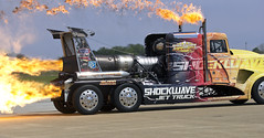2016 Airpower over Hampton Roads Langley Air Show Virginia - Shockwave Jet Truck (watts_photos) Tags: show truck virginia force power air over jet wave va shock roads hampton langley airpower afb shockwave 2016