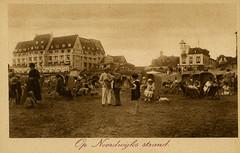 1056 - PC Noordwijk ZH (Steenvoorde Leen - 2.1 ml views) Tags: history strand boulevard postcards noordwijk kust ansichtkaart noordwijkaanzee badplaats oldcards oudnoordwijk