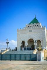 Mausoleo de Mohammed V (valentinasota) Tags: v morocco mohammed maroc marruecos rabat hassantower