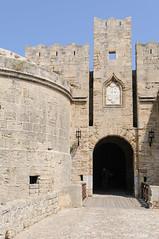 Rhodes - La porte d'Ambroise (darkfloyd60) Tags: europe gr rodos rhodes grce 2009 continents egeo annes