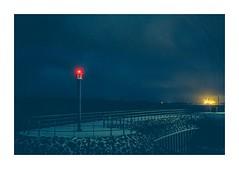 _DSC8782 (www.dmeene.de) Tags: street sea night 35mm river germany landscape lights ship darkness hamburg container shore wedel elbe