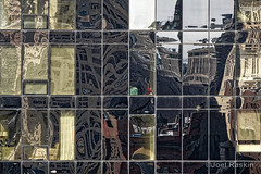 OneMad Fragmented Reflections (Joel Raskin) Tags: nyc newyorkcity geometric lines architecture reflections lumix rectangles glassfacade onemadison onemadisonpark fragmentedreflections fz1000