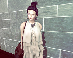 Boho ruffle_2 (theablankstiletto) Tags: world fashion potd sl secondlife virtual styles boho ootd