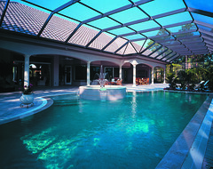 Cardiff Home Plan by The Sater Design Collection (Sater Design Collection) Tags: pool verandah
