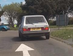 Volkswagen Golf Mark 1 GL (occama) Tags: old uk car vw silver golf volkswagen 1982 cornwall plate reg cornish gl taf119y