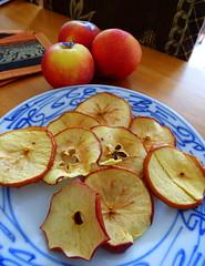 Dehydrated apple slices (Sandy Austin) Tags: newzealand apple auckland foo northisland slices massey dehydrated westauckland sandyaustin panasoniclumixdmcfz70