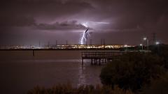 Lightning Adelaide Hills (Ian Luc) Tags: storm night photography adelaide lightning