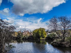 A beautiful spring day on the river Don in Rotherham. (watergypsyrach) Tags: uk clouds river landscape nikon bluesky rotherham southyorkshire riverdon nikoncoolpixs7000