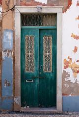 Or (TablinumCarlson) Tags: door leica blue portugal europa europe 28mm atlantic m summicron m8 architektur algarve blau schloss tr entry kste atlantik