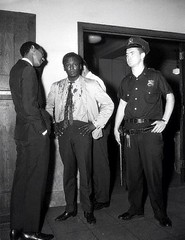 Miles Davis arrested after fighting with patrolman Gerald Kilduff, who had ordered him to move from crowded sidewalk. In the scuffle, Davis was hit on the head with a blackjack 1959 [475615] #HistoryPorn #history #retro http://ift.tt/1W2n8gq (Histolines) Tags: from history him was hit with head who move retro sidewalk gerald timeline after miles had fighting davis arrested blackjack 1959 crowded ordered scuffle in kilduff patrolman vinatage historyporn histolines 475615 httpifttt1w2n8gq