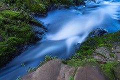 (nzfisher) Tags: longexposure newzealand water creek canon 50mm stream auckland filter lee waitakere bigstopper