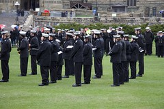 RCSCC Falkland band at the Battle of the Atlantic ceremony on Parliament Hill (Mark Blevis) Tags: ottawa wwii ceremony parade atlantic parliamenthill battleoftheatlantic