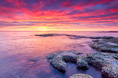 160102 - Cabo Cervera (1) (naturephoto_es) Tags: longexposure clouds sunrise cabo cloudy amanecer nubes olas rocas cabocervera