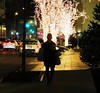 Midnight, Midtown, Manhattan (lotos_leo) Tags: midnight midtown manhattan newyork ny night light street urban streetphotography outdoor solowbuilding holiday west58thstreet dof