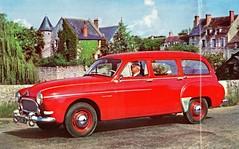1959 Renault Manoir Estate Car (aldenjewell) Tags: car station wagon estate renault brochure 1959 manoir