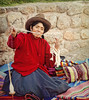 Spinning wool (Artypixall) Tags: portrait woman texture peru handycraft chinchero spinningwool