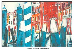 VENEDIG (CHRISTIAN DAMERIUS - KUNSTGALERIE HAMBURG) Tags: hamburg container elements hafen elbe schiffe acryl schleswigholstein hafencity rapsfelder werke kunstgalerie bildergalerie landschaftsmalerei acrylmalerei auftragskunst auftragsmalerei galeriehamburg bilderwerkhamburg modernenorddeutschemalerei modernenorddeutschelandschaftsmalerei wermaltbilder