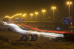 Sangat (|MBS-..|) Tags: road friends car sand nikon long exposure dubai desert outdoor uae gathering sharjah d7200 mydubai