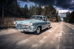 Volga Final Run (Rawcar.com Photography) Tags: auto classic cars car sport modern race vintage photography automobile photographer calendar wheels culture gaz automotive racing retro chrome soviet classics vehicle production oldtimer motorsports volga sovietunion ussr calendars artprint youngtimer wolga fineprint autosports gaz21 rawcar rawcarcom