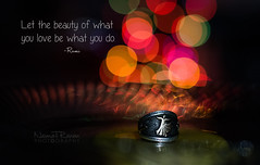 Rumi (naimatrawan) Tags: abstract afghanistan art colors night dark photography lights bokeh quote fine arts ring wise wisdom rumi rawan naimat