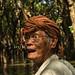 Khmer Man, Tonle Sap River, Cambodia