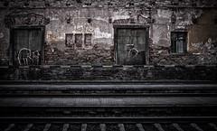 Bohušovice nad Ohří - Bauschowitz Train Station (Hydrology) Tags: xmas grave canon wwii worldwarii 40mm fullframe dslr ghetto f28 massgraves incinerator concentrationcamp lightroom bleachbypass terezin 2015 5dmarkii