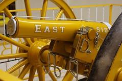 Saluting Cannon (rolandmks7) Tags: colorado pueblo cannon konica 40mm easthighschool hexanon sonynex5n