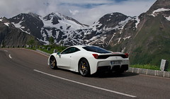 White (D.N. Photography) Tags: auto road cars car outside outdoors eos austria sterreich automobile outdoor automotive ferrari vehicles exotic vehicle supercar automobiles speciale exotics supercars hochalpenstrasse 458 grosglockner hochenalpenstrasse