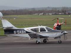 G-DASH Rockwell Commander 112 (Aircaft @ Gloucestershire Airport By James) Tags: james airport gloucestershire rockwell 112 lloyds commander egbj gdash