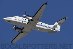 N29NG (SoCalSpotters) Tags: lax losangelesinternationalairport klax northropgrumman beechcraft1900 b190 n29ng socalspotters
