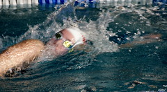 Respiration.....! (Elyane11) Tags: crawl reflets nage piscine intérieur vitesse compétition respiration