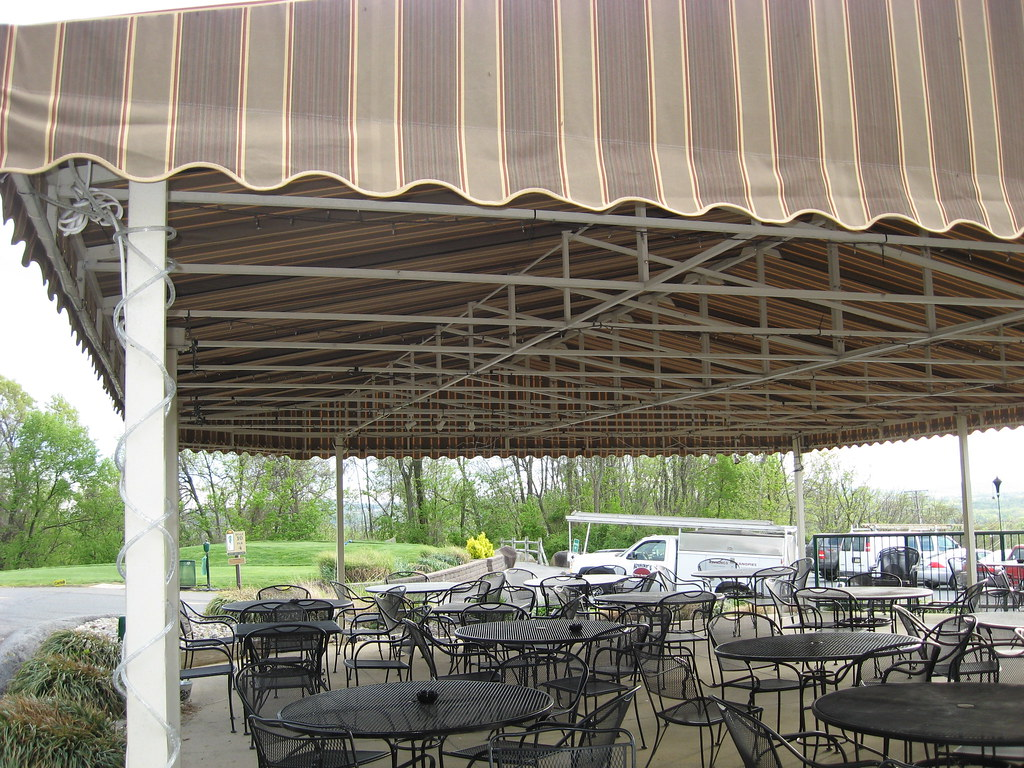 Country Club Dining Canopy (kreiderscanvas) Tags: Dining Canopy Deck Patio  County Club Golf