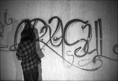 (andreicostan1) Tags: street blackandwhite bw white black film photography graffiti kodak tmax tag streetphotography 400 filmcamera
