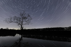 Brinklow Marina 10th February 2016 (boddle (Steve Hart)) Tags: life road wild england sky nature night canon reflections dark lens stars star evening is timelapse angle natural britain wildlife bruce united steve great wide wideangle twinkle testing trail l hart astronomy steven nightsky usm coventry standard ef fisheyes 6d wilds wyke startrail kingdon 1635mm 24105mm wyken boddle 815mm starstax