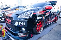 _DSC3192 (kramykramy) Tags: g4 mirage greenfield mph mitsubishi compact hatchback carshows subcompact 6thgen 3a92 miragepilipinas kenyos kenyoscrew