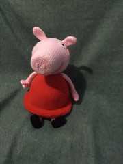 Peppa Pig (CrochetKittyCreation) Tags: kids crochet cartoon amigurumi peppapig crochetkitty