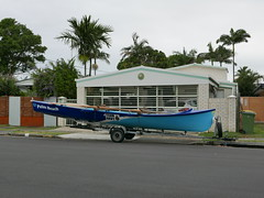 Palm Beach (Qld) SLSC - Refurbished Surf Boat 7th Ave Palm Beach - Photo John McPherson L1040762 (john.robert_mcpherson) Tags: beach boat surf palm ave qld 7th refurbished slsc