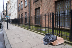 20160205-13-31-29-DSC03706 (fitzrovialitter) Tags: street england urban london westminster trash geotagged garbage fitzrovia unitedkingdom camden soho streetphotography documentary litter bloomsbury rubbish environment mayfair westend flytipping dumping cityoflondon marylebone captureone gpicsync peterfoster fitzrovialitter followthisroute