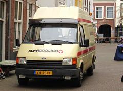 1991 Ford Transit 100 L 2.5 D (rvandermaar) Tags: ford d 25 transit l 1991 100 fordtransit grijskenteken sidecode9 vh251t