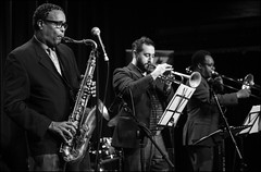 Jean Toussaint's Roots and Herbs #20 (Garry Corbett) Tags: jazz wolverhampton bluejazzbuddha percypursglove shaneyforbes julianjoseph jeantoussaint dennisrollins danielcasimir artblakeysjazzmessengers arenatheatrewolverhampton jazzwolverhampton jazzatwolverhampton rootsandherbs cgarrycorbett2016 wayneshortercompositions