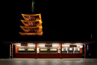 Goju-no-to Tower of Sensoji Temple (浅草寺 五重塔)