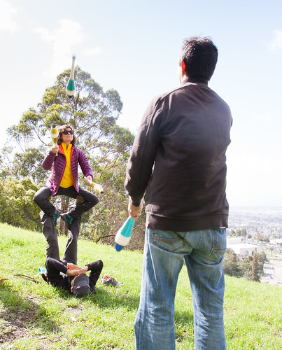 Juggling in Joaquin Miller