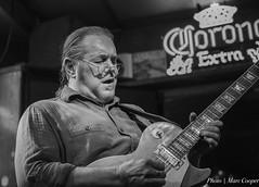 Blues Guitarist Jon Woodhead (MarcCooper_1950) Tags: musician music bar losangeles nikon livemusic blues performer lightroom tarzana d810 marccooper 2470mmf28nikon mauisugarmillsaloon cadillaczackbluesparty
