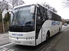 YJ14 CBU (Cammies Transport Photography) Tags: road england bus scotland clyde coach edinburgh rugby pride safari v hd specials the corstorphine cbu temsa of yj14 yj14cbu