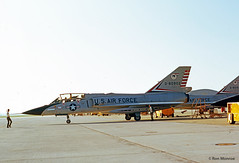 USAF, Convair F-106B Delta Dart (Ron Monroe) Tags: usaf interceptor convair unitedstatesairforce f106 deltadart tyndalafb 080902 williamtell1972