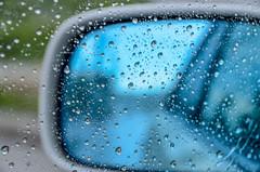 Time Slowly Passes By (Ryukyujin) Tags: window car rain mirror rainy okinawa   ryukyu   nago